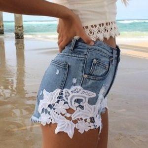 Sabo Skirt Jean shorts